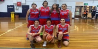 Red Stars Basketball Club Women Div2 Champions for Bankstown Winter 2020