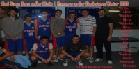 Red Stars Basketball Club Boys U/18 Div 1 Runners Up for Bankstown Winter 2010