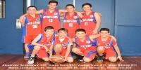 Red Stars Basketball Club Boys U/12 Div1 Runners up for Bankstown Winter 2016