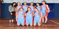 Red Stars Basketball Club Girls U/18 Div1 Runners up for Bankstown Winter 2016