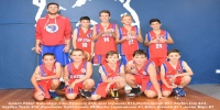 Red Stars Basketball Club Boys U/12 Div1 Champions for Bankstown Summer 2015/16
