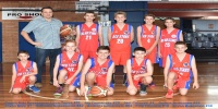 Red Stars Basketball Club Boys U/14 Div1 Runners up for Bankstown Winter 2016